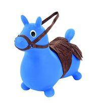 Sport Fit - Sportfit - 2048592 - Jeu De Plein Air - Cheval Gonflable En Bleu