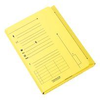 L'oblique A-z - Chemise index kraft L'Oblique Az 23,5 x 31,5 cm - Paquet de 25 - jaune pastel