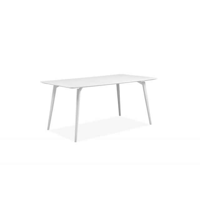 Meubletmoi Table 160 cm blanche - Snow