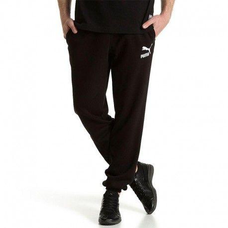 the best attitude 0d599 f72ec Puma - Pantalon Jogging Archive Logo Noir Sport Homme - pas cher Achat   Vente Pantalon femme - RueDuCommerce