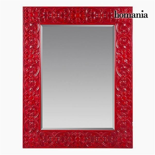 Homania Miroir Carré Rouge - Collection Be Yourself by