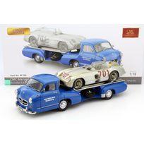 Cmc - Mercedes-benz Transporteur + 300 Slr 701 Dirty - 1954 - 1/18 - M-163