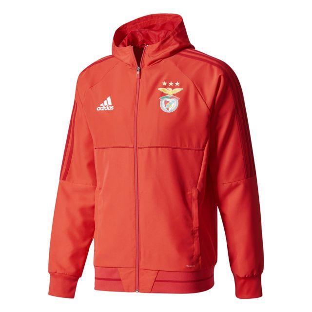Adidas Veste de présentation Benfica 20172018 pas cher