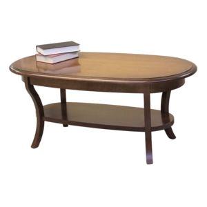 artigiani veneti riuniti table basse ovale en bois massif pas cher achat vente meubles tv. Black Bedroom Furniture Sets. Home Design Ideas
