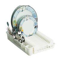 Rayen - Egouttoir à vaisselle en plastique - blanc