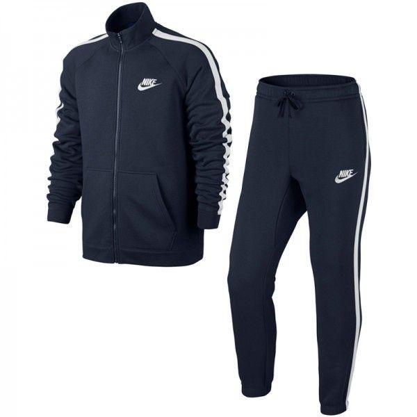 797239e1c110 Nike - Ensemble de survêtement Tracksuit Flc - Ref. 804312-452 - pas ...