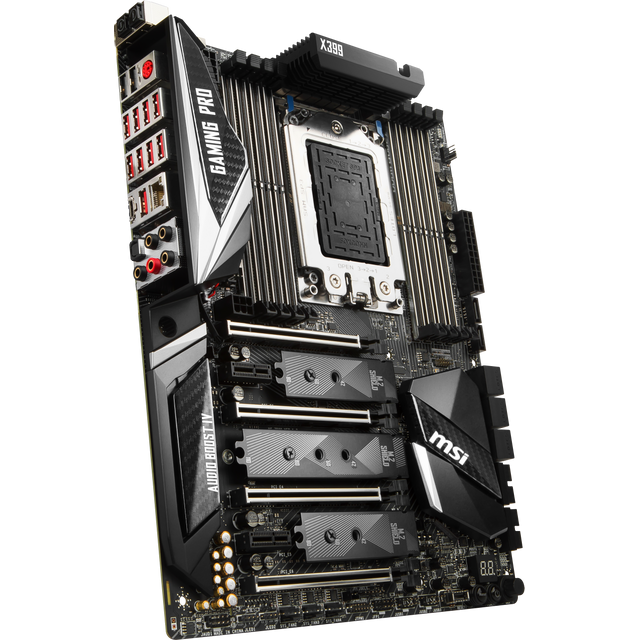 MSI Carte mère X399 GAMING Pro Carbon AC Carte mère X399 GAMING Pro Carbon AC