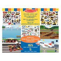 - stickers repositionnables les véhicules - pochette de 165