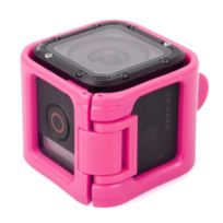 Wewoo - Cadre de protection rose pour session GoPro Hero5 / session Hero4 / session Hero Support de à profil bas