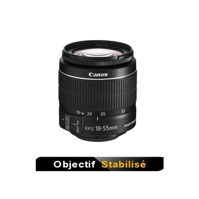 Canon Objectif Ef-s 18-55 mm Is Ii