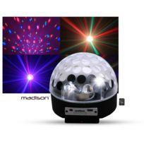 Madison - Boule lumineuse Astro4 Led Rvb Hp intégrés Sd/USB