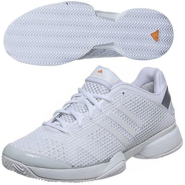 e769f50f36a8 Adidas - Performance-Chaussures Tennis Asmc Barricade Clay W Blanc D66897 - pas  cher Achat   Vente Chaussures tennis - RueDuCommerce