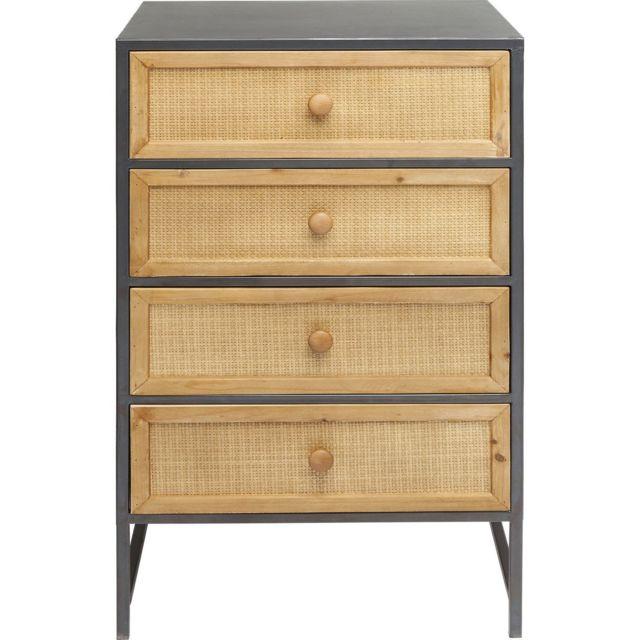 Karedesign Chiffonnier Bistro 4 tiroirs Kare Design