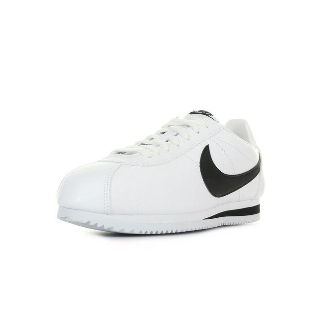 wholesale dealer 56923 69c05 ... germany nike classic cortez leather blanc noir 44 1 2 pas cher achat  vente baskets homme
