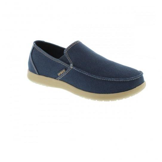 Crocs Chaussures Santa Cruz Clean Cut Loafer Navy e16