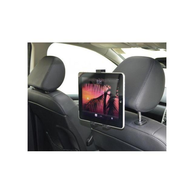 Support Tablette Double Orientation 180 Et 360 Sur Appuie Tete