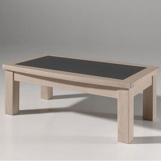 Table Basse Contemporaine Couleur Bois Melisandre
