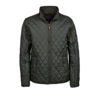 Tee-jays - Veste doudoune style chasse - Homme - 9660 - Vert olive d98533ac11c
