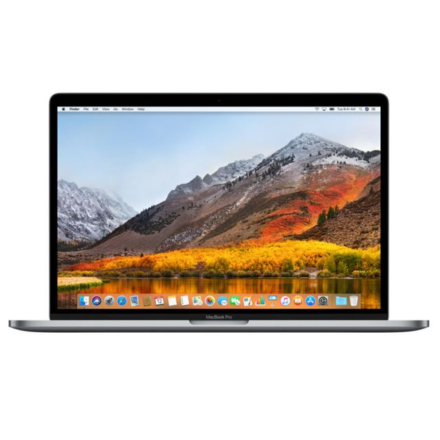APPLE MacBook Pro 15 Touch Bar - 512 Go - MLH42FN/A - Gris sidéral