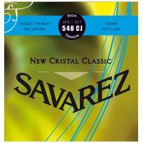 Savarez - 540CJ Cristal Classic Bleu Tirant fort - Jeu de cordes guitare classique