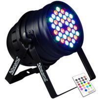 BEAMZ - LED PAR 36x spots LED 10W PAR RGBW 120W