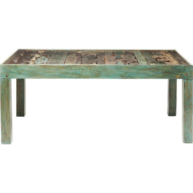 Karedesign Table en bois Shanti Puzzle Surprise 180x90cm Kare Design