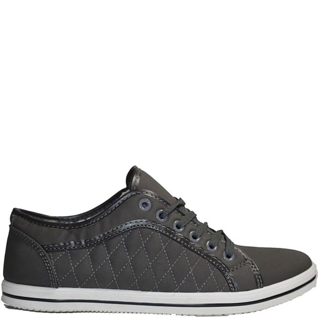 c2ce4399be2f8 No Brand - Baskets basse casual grise modele Zachbaskets homme, chaussure  homme, basket homme