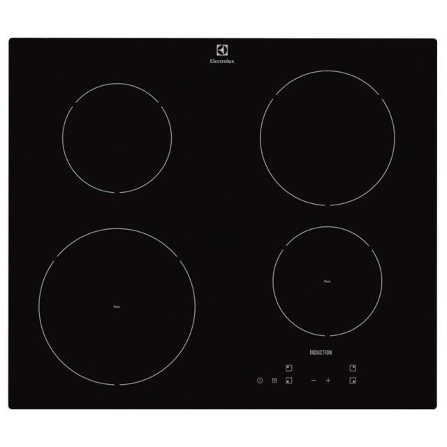 Electrolux Table de cuisson induction Ehh 6240IOK 4 Foyers Noir