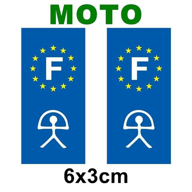 mygoodprice lot de 2 sticker plaque immatriculation moto logo r gionaux croix celtique pas. Black Bedroom Furniture Sets. Home Design Ideas