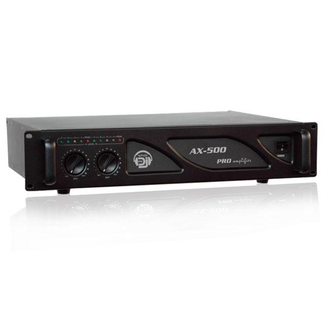Mydj Amplificateur sonorisation 2x250W My Deejay
