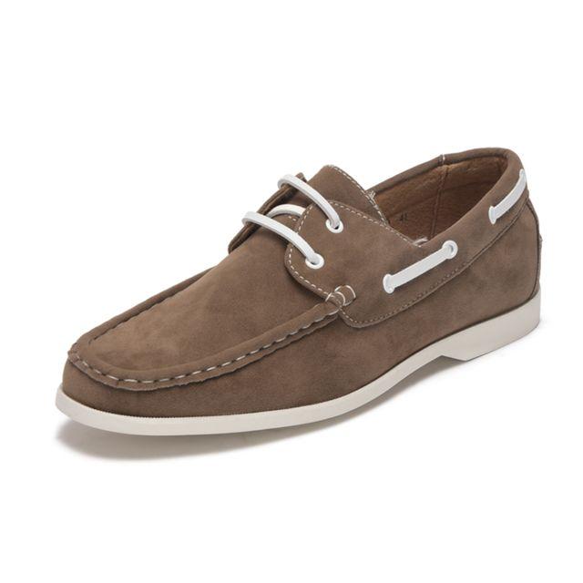 Lacet Gris Shoes Cher À Reservoir Pas Taupe Chaussures Bateau qwIFqnWXT