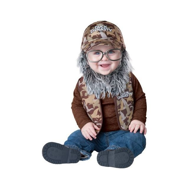 Fun World Duck Dynasty Baby Boys Uncle Si Costume Camouflage Large