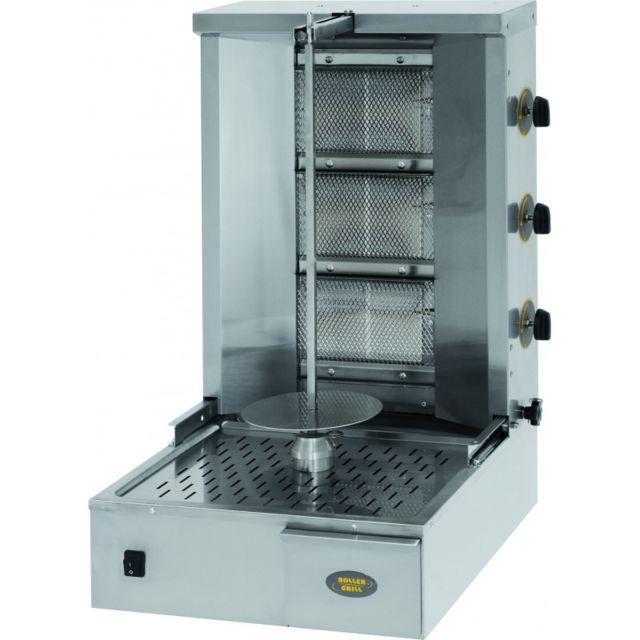 Materiel Chr Pro Gyros Kebab Professionnel à Gaz 25 Kg - Stalgast