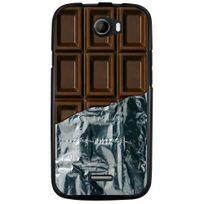 Kabiloo - Coque souple pour Wiko Barry avec impression Motifs tablette de chocolat