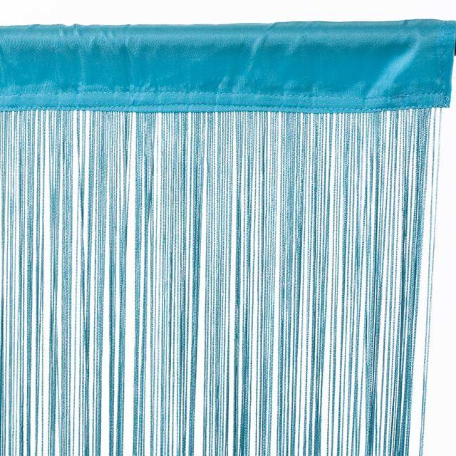 Thedecofactory - Rideau à fils Filou 90x200cm, Bleu