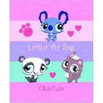 Littlest Petshop - Plaid - Bout de lit Littlest Pet Shop