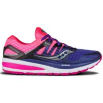 Saucony - Powergrid Triumph Iso 2 Violette Et Rose Chaussures running