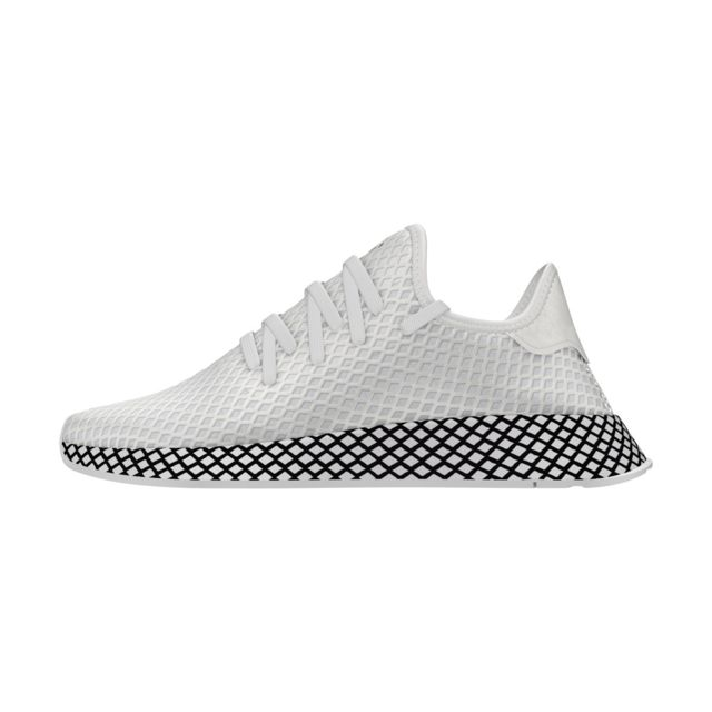 quality design cac25 e6fa8 Adidas originals - Basket Deerupt Runner - Ref. B41767 Blanc - pas cher  Achat   Vente Baskets homme - RueDuCommerce