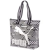 2bc0bd29f0 Puma - Archive Large Shopper Femme Sac à bandoulière Blanc Multicouleur Tu