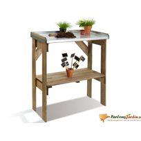 Table de préparation en bois Base