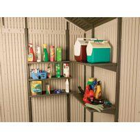 Lifetime - Kit de 5 étagères pour abri de jardin Pvc