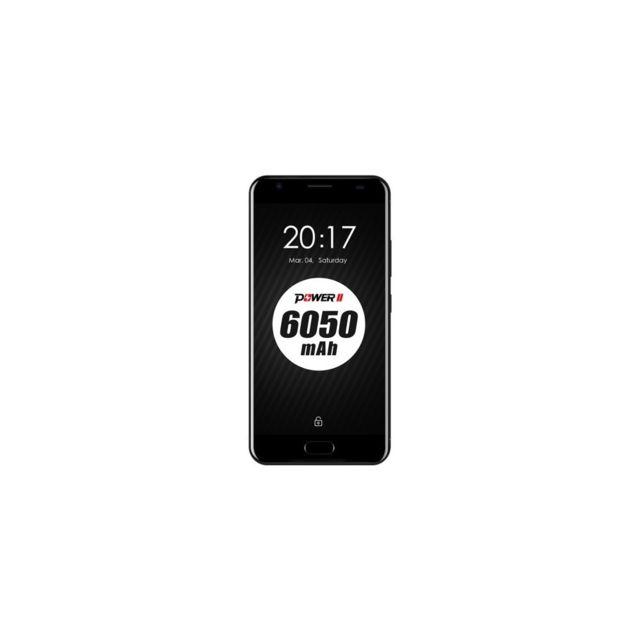 Auto-hightech Smartphone 4G, 5,5 pouces, Android 7.0, Octa Core avec Wifi et bluetooth - Noir