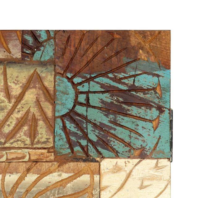 Icaverne - Buffets & bahuts serie Buffet sculpté à la main 85x45x180 cm Bois récupération solide