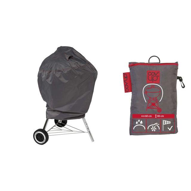 oviala housse de protection pour barbecue rond. Black Bedroom Furniture Sets. Home Design Ideas