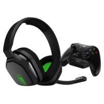 Astro - Casque gamer Casque Gaming A10 Gris/Vert + MixAmp M60