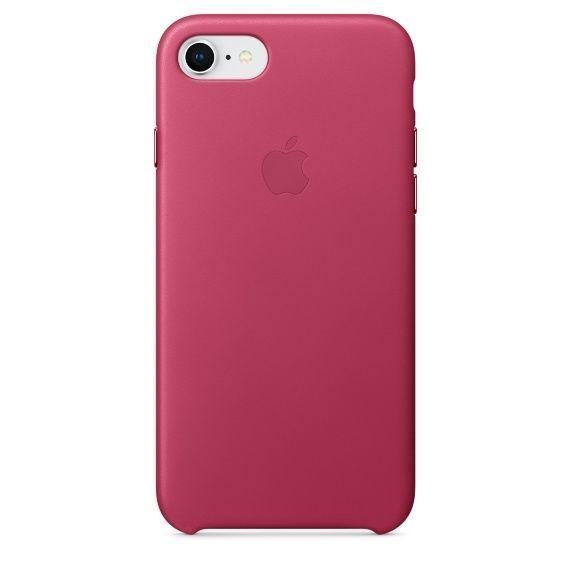 APPLE iPhone 8/7 Leather Case - Fuchsia