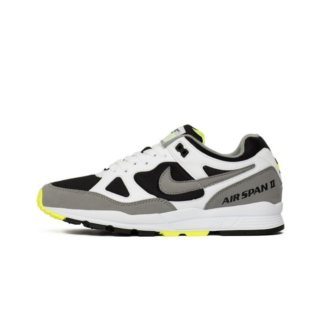 new product 1909b f3448 Nike - Air Span Ii Blanc - pas cher Achat   Vente Baskets homme -  RueDuCommerce