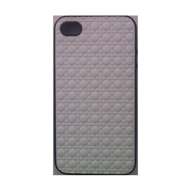 coque iphone 4 4s blanche semi rigide