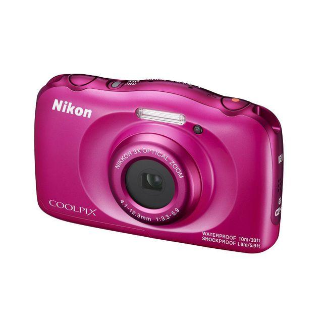 NIKON appareil photo compact - coolpix w100 rose