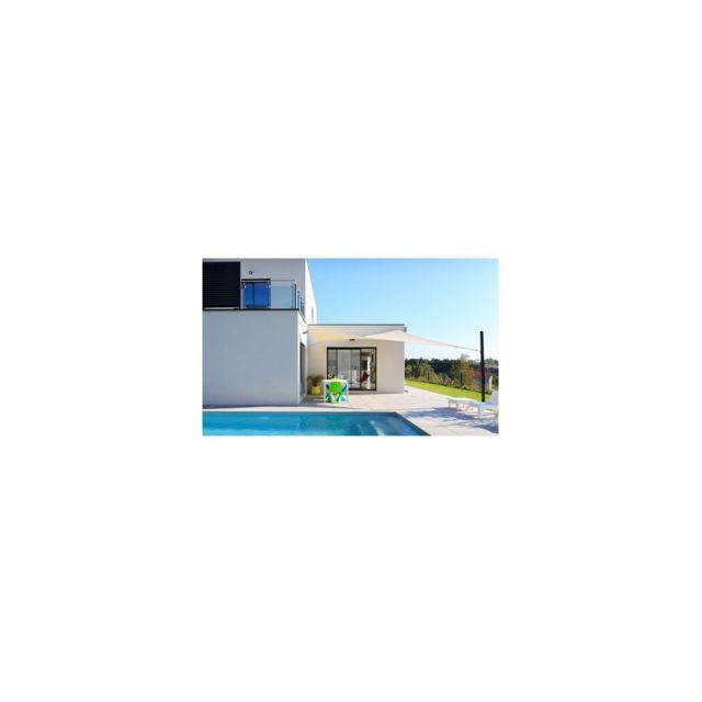 Voile d'ombrage Australe 340 - Couleur: Cayenne - Dimensions: Triangle 4,50 x 4,50 x 4,50 m 7,65 m²